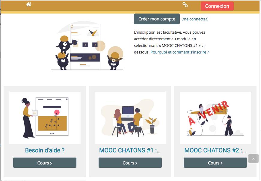 Lancement du MOOC CHATONS